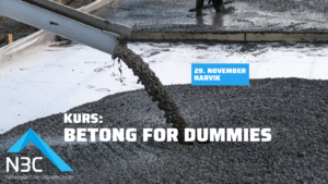 Kurs: Betong for dummies – Narvik